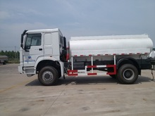 contruction meterials new chemical water tanker truck 6x6