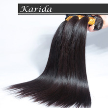 100% brazilian virgin hair weft,full coticle human hair extension in new york