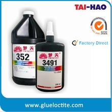 UV curing adhesive glue for glass metal plastic and acrylic products