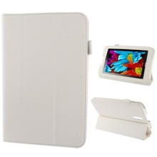 3-folding Toothpick Texture Horizontal Flip Leather Case for Huawei MediaPad 7
