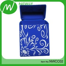 Wholesale full color printing silicone cigarette pack cover