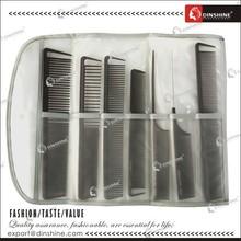 Toni&Guy hair comb set with PU bag