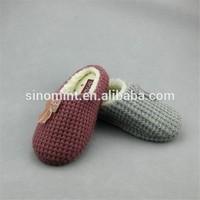 cheap and warm high quality winter nukannuuk sheepskin slipper