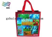 25kg 50kg bopp laminated pp woven bag of rice