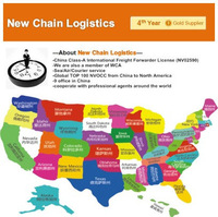 freight forwarding sea shipping service china to new york