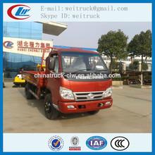 de alto rendimiento de la mano derecha de conducción 5 forland toneladas de carga de camiones para la venta caliente