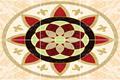 مثل الرخام بلاط البورسلين، بلاط البورسلين تصميم السجاد