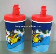 2015 Fairy tale 3D lenticular plastic cups