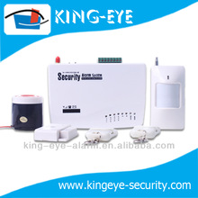 auto dial and SMS notification home security wireless Cheapest GSM alarm system