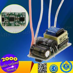 Wholesale!!! AC 85-265V 600mA HWG0301 LED Bulb Driver For E27 / GU10 Light