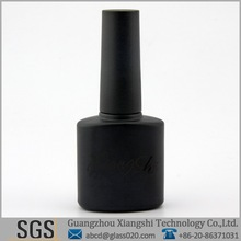 black painted uv gel polish bottles shut out light well
