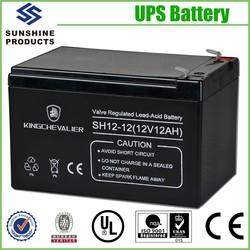 Emergency Lighting System Ups Dry Battery 12V For UPS