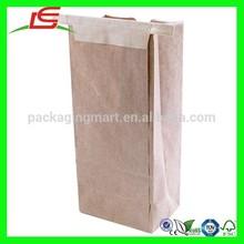 N803 Decorative Cheap Kraft Brown Paper Bag Wholesale Manufacturer