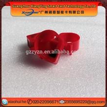 guangzhou Animal Pigeon Rifd Tag,laser printing Paloma Rfid Tag, 12mm logo printing Hi tag S256 tracking Pigeon ring