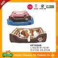Desconto!!! Comfy impermeável tecido de pele quente luxuoso carro em forma de cama para animais de estimação para o cão