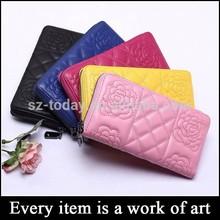 (sz-wallet 100) high range wallet to import stitching women clutch purse leather lambskin
