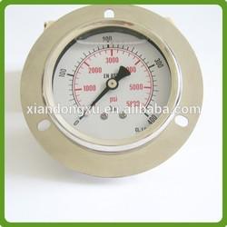 propane gas pressure gauge bourdon tube type