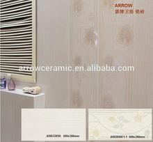 Glazed ceramic bathroom wall tiles 600x300mm, ceramic tiles manufacturer, guangdong building materials