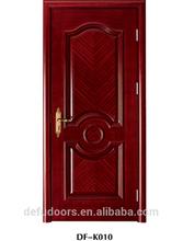 2014 hot sale interior mdf wooden modern design timber doors