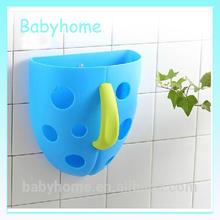 cute baby bath toy organizer plastic toy storage basket