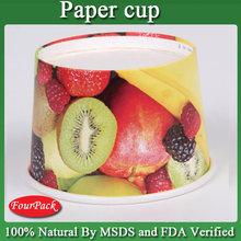 china wholesale fruit and vegetables bowl , paper salad bowl or soup bowl