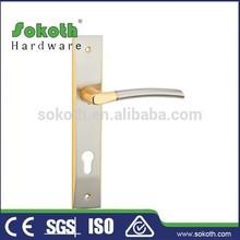 alibaba door locks on plate door handle with plate