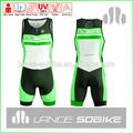 2015 pro de triatlón nuevo diseño de su propio medias de compresión pantalones cortos en bicicleta