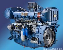 Hot sale!!! WP12C Series 350HP/400hp/450hp Marine Diesel Engine With Gearbox