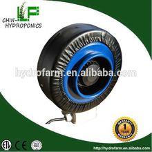 grow light hydroponics inline duct fan/drum exhaust fan