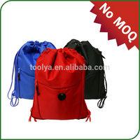 Promotional cheap and high quality nylon drawstring bag