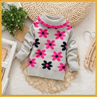 Hot Selling New Popular Autumn and Winter Sweater Baby Sweater wool Handmade Sweater Design for Girl