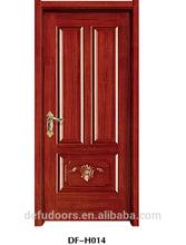 aprtment oak modern interior solid wooden door
