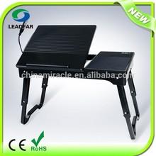 Foldable portable CE ROHS laptop table(LY-NBT22)