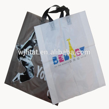Plastic recycled rpet grocery tote made in China