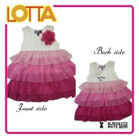 Outlet Lace Dress One Piece Girls Party Dresses