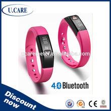 Smart Bluetooth 4.0V digital 3d pedometer test