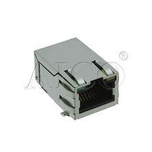 smt 10/100 BASE-TX single port (1*1) Tab-UP Intergrated Magnetics rj45 female connector socket