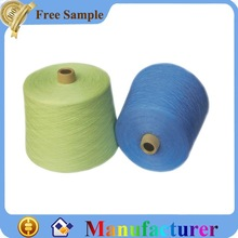Eco-friendly dyed wool yarn for knitting
