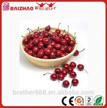 Artificial Plastic Fruit Cherry Shaped Fruit Ornament