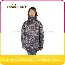 waterproof windproof ski clothing professional ski jacket professional ski wear