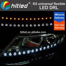 led maker K5 Daytime Running Light strip white and yellow dual-color flexible led drl