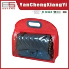 Small hot new products for 2015 linenlike polyester folding storage trendy handbags 2015