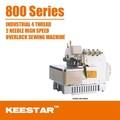 keestar 800 serie de alta velocidad más de gemsy de bloqueo de la máquina de coser industrial