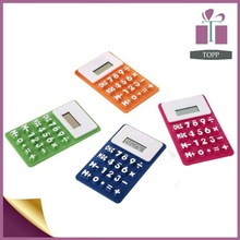 silicone school calculators cute mini pocket calculators