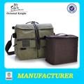 Toile vert armée sac photo, sac appareil photo reflex numérique, hidden camera bag