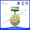 ingrosso 3d in rilievo rame bronzo sport medaglia del metallo