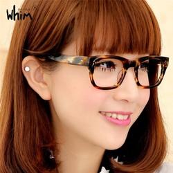 WHIM Fashion Handmade Optical Acetate Glasses Frame With Myopia Lens