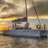 used catamaran Lagoon450 sail boat 2011 year