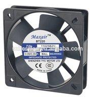 Mini motor small cooling 220v ventilation fan 110mm