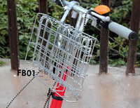 HOT SALE!!! the latest folding basket model for 2015//folding basket for bike/steel basket for e-bike